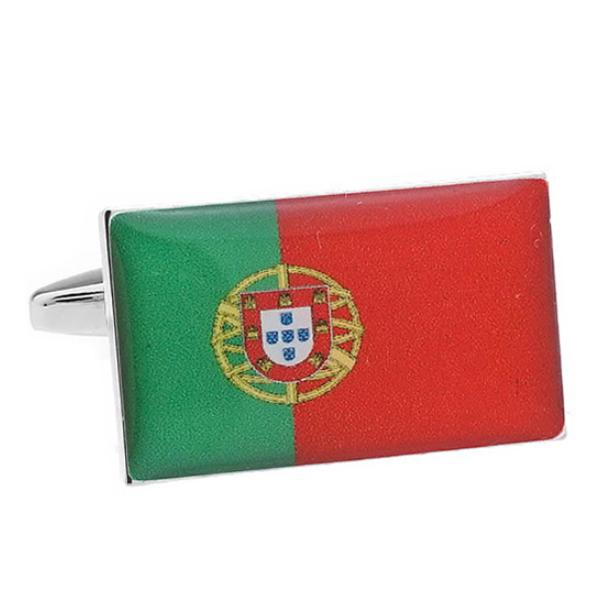 포르투갈 국기 커프스