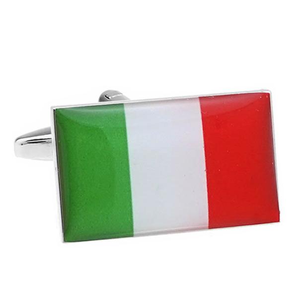이탈리아 국기 커프스