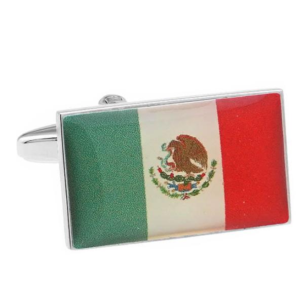 멕시코 국기 커프스