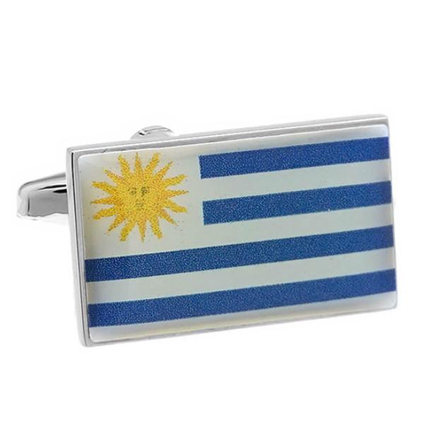 우루과이 국기 커프스