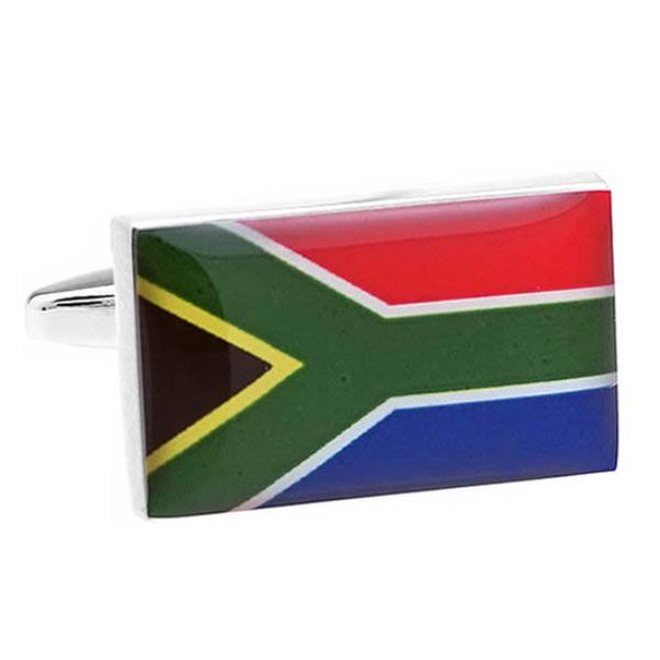남아프리카 국기 커프스