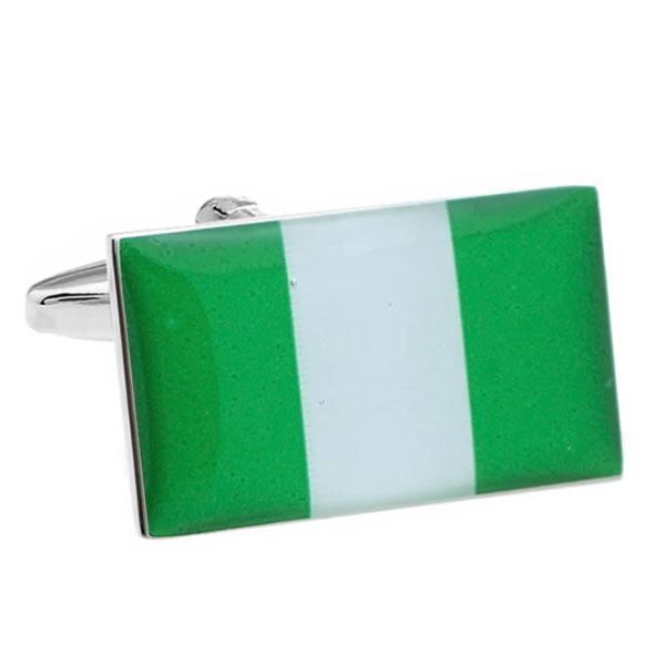 나이지리아 국기 커프스