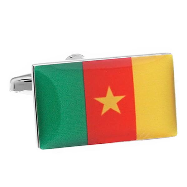 카메룬 국기 커프스