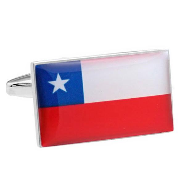 칠레 국기 커프스