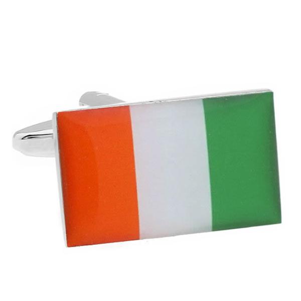 코트디부아르 국기 커프스