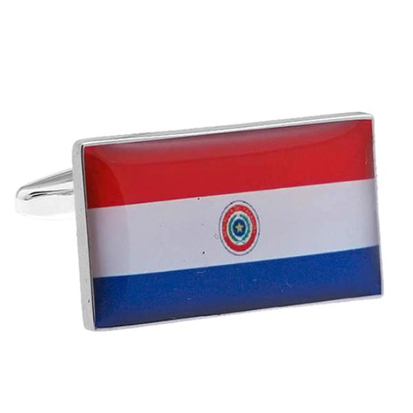 파라과이 국기 커프스