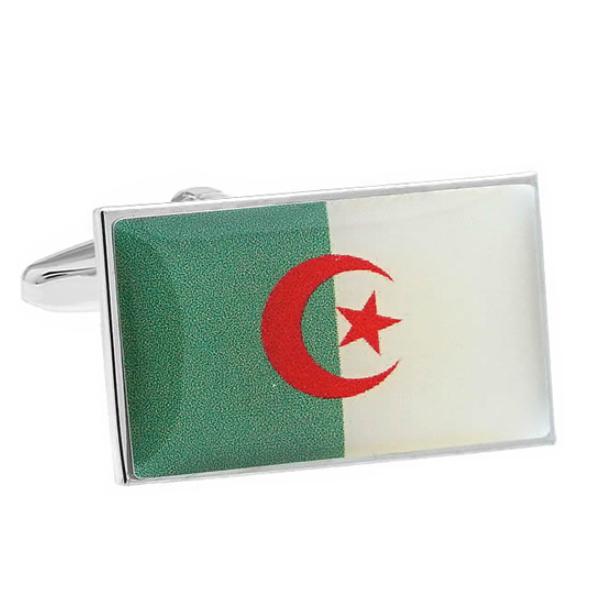 알제리 국기 커프스