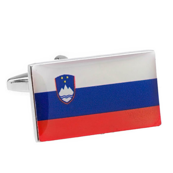 슬로베니아 국기 커프스
