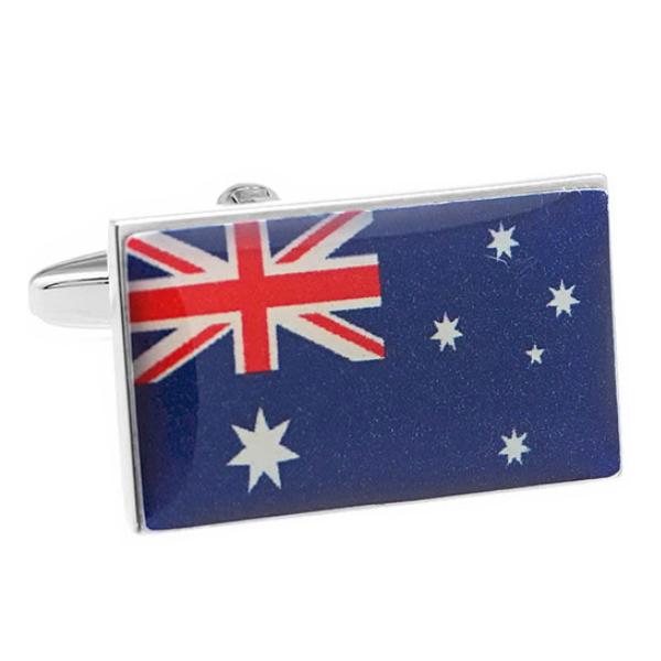 오스트레일리아  국기 커프스