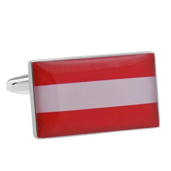 오스트리아 국기 커프스