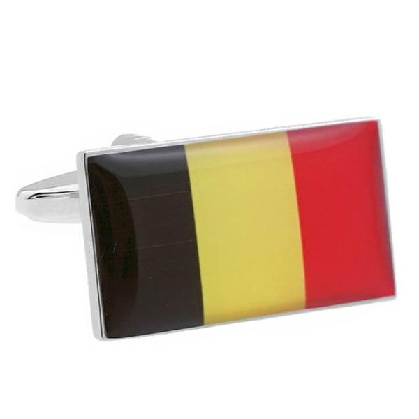 벨기에 국기 커프스