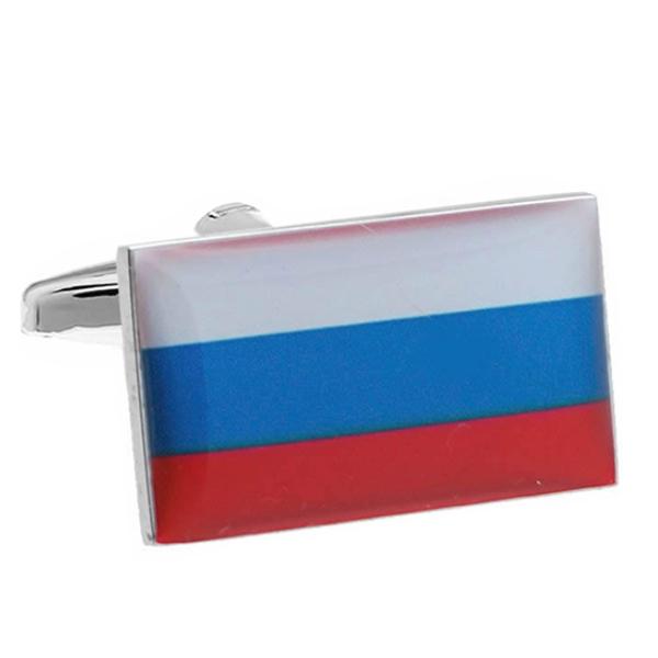 러시아 국기 커프스
