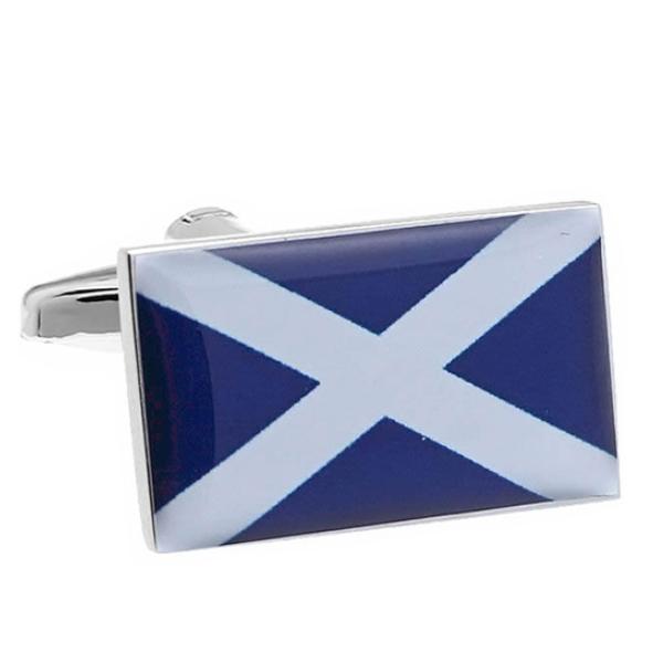 스코틀랜드 국기 커프스