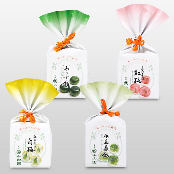 [소산원 코야마엔] 말차 사탕 캔디 4종세트